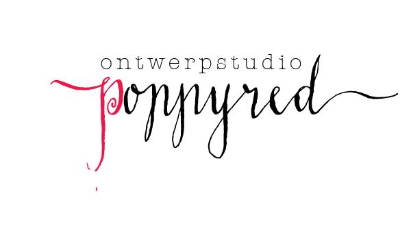 poppyred ontwerpstudio Logo