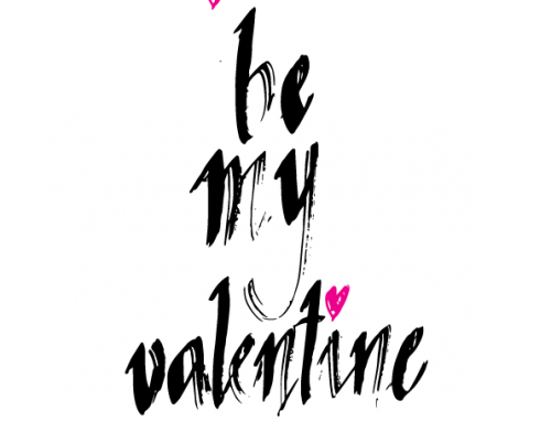 Printable: Be my Valentine