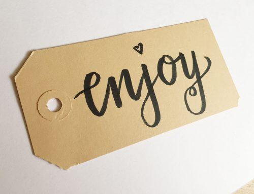 enjoy – moderne kalligrafie