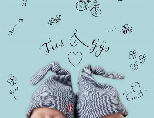 Geboortekaartje Ties & Gijs
