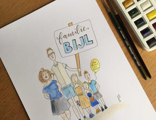 Familieportret Familie Bijl